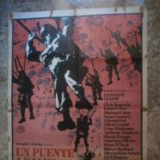 Cine: UN PUENTE LEJANO. DIRK BOGARDE, JAMES CAAN, MICHAEL CAINE. AÑO 1976.. Lote 34195978