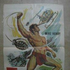 Cine: TARZAN 66. MIKE HENRY. AÑO 1977.. Lote 32984086