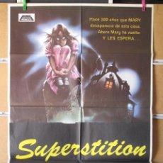 Cine: SUPERSTITION O LA CASA DE MARY. Lote 33007164