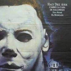 Cine: CARTEL HALLOWEEN 4. C.1980. 70 X 100 CM. ESPAÑA. Lote 33014405