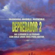Cine: CARTEL DEPREDADOR (2). C.1980. 70 X 100 CM. ESPAÑA. Lote 33018540