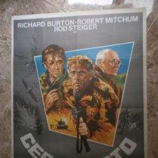 Cine: CERCO ROTO. RICHARD BURTON, ROBERT MITCHUM, ROD STEIGER. AÑO 1979.. Lote 33037184