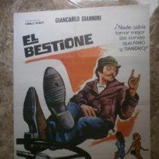 Cine: EL BESTIONE. GIANCARLO GIANNINI, MICHEL CONSTANTIN. AÑO 1975.. Lote 33037321