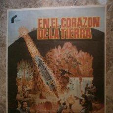 Cine: EN EL CORAZON DE LA TIERRA. DOUG MCCLURE, PETER CUSHING, CAROLINE MUNRO. AÑO 1976.. Lote 33038955