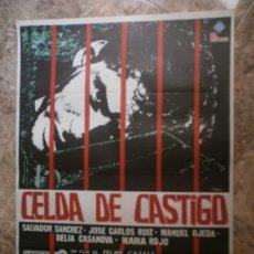 Cinema: CELDA DE CASTIGO. SALVADOR SANCHES, JOSE CARLOS RUIZ, MANUEL OJEDA. AÑO 1978.. Lote 33047268