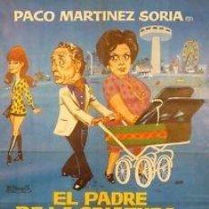 Cine: CARTEL CINE.EL PADRE DE LA CRIATURA.JANO.M. SORIA/CHICO. Lote 33064096