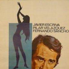 Cine: CARTEL CINE.LOS CASADOS Y LA MENOR.JANO.ESCRIVÁ/VELAZQU. Lote 33081030