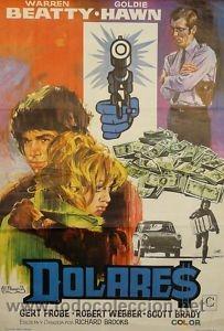 CARTEL CINE.DOLARES .JANO. BEATTY / HAWN (Cine - Posters y Carteles - Acción)