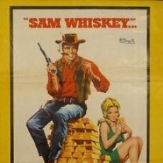 Cine: CARTEL CINE.SAM WHISKEY .JANO.REYNOLDS / DICKINSON. Lote 33094362