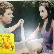 Cinema: RAPHAEL - EL GOLFO - SHIRLEY JONES - VICENTE ESCRIVA - LOBBY CARD ORIGINAL MEXICANO. Lote 13881577