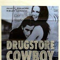 Cine: CARTEL DRUGSTORE COWBOY. C.1980. 70 X 100. ESPAÑA. Lote 33108355