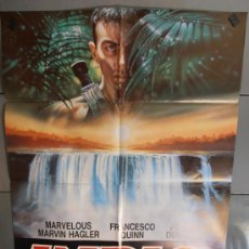 Cine: INDIO (LA GRAN AMENAZA), CARTEL DE CINE ORIGINAL 70X100 APROX (1319). Lote 33119210