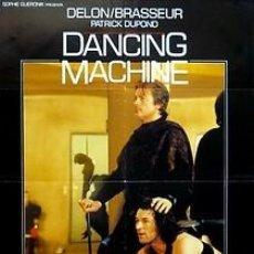 Cine: CARTEL DANCING MACHINE. C. 1980. 70 X 100. ESPAÑA. Lote 33132048
