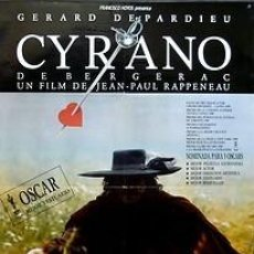 Cine: CARTEL CYRANO DE BERGERAC. 1990. 70 X 100. ESPAÑA. Lote 33132175