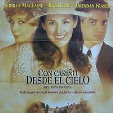 Cine: CARTEL CON CARIÑO DESDE EL CIELO. 1990. 70 X 100. ESPAÑA. Lote 33132212