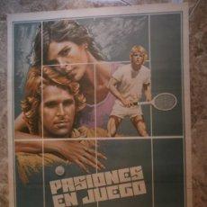 Cine: PASIONES EN JUEGO. PANCHO GONZALEZ,GUILLERMO VILAS, ION TIRIAC. AÑO 1979.. Lote 33206721