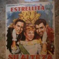 Cine: SU ALTEZA LA NIÑA.JOSE LUIS OZORES, ANTONIO OZORES, ELISA MONTES. . Lote 33207153