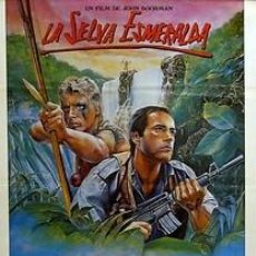 Cine: CARTEL LA SELVA ESMERALDA. C.1985. MAURO MISTIANO. Lote 33208634