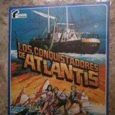 Cinéma: LOS CONQUISTADORES DE ATLANTIS - DOUG MCCLURE, PETER GILMORE - AÑO 1978. Lote 48997887
