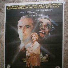 Cine: ALMA PERDIDA. CATHERINE DENEUVE, VITTORIO GASSMAN. AÑO 1977.. Lote 33231679