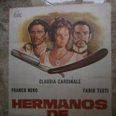 Cine: HERMANOS DE SANGRE. CLAUDIA CARDINALE, FRANCO NERO, FABIO TESTI. AÑO 1975.. Lote 81876079