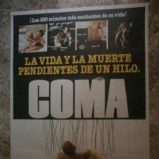 Cine: COMA. MICHAEL DOUGLAS, GENEVIEVE BUJOLD.. Lote 33236484