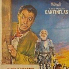 Cine: CARTEL CINE.DON QUIJOTE CABALGA DE NUEVO.JANO.CANTINFLA. Lote 33240924