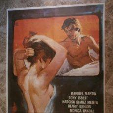Cine: TRES DIAS DE NOVIEMBRE. MARIBEL MARTIN, TONY ISBERT, MARCISO IBAÑEZ MENTA. AÑO 1977.. Lote 33249835