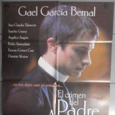 Cine: EL CRIMEN DEL PADRE AMARO, CARTEL DE CINE ORIGINAL 70X100 APROX (1606). Lote 33274009