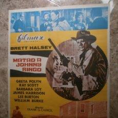Cine: MATAD A JOHNNY RINGO. BRETT HALSEY, GRETA POLYN, RAY SCOTT. AÑO 1972.. Lote 33326580