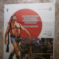 Cine: STURMTRUPPEN JO...¡ QUE GUERRA ! RENATO POZZETO, LINO TOFFOLO, COCHI PONZONI. AÑO 1977.. Lote 33326946