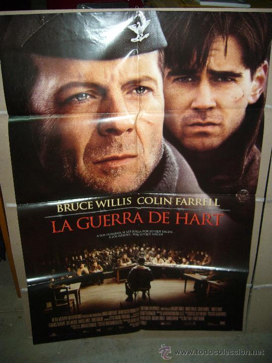 LA GUERRA DE HART BRUCE WILLIS POSTER ORIGINAL 70X100 YY (Cine - Posters y Carteles - Bélicas)