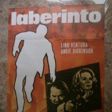Cine: LABERINTO. LINO VENTURA, ANGIE DICKINSON. AÑO 1978.. Lote 33356548