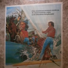 Cine: ABANDONADOS EN LA ISLA PERDIDA. ROBERT LOGAN, MIKKI JAMISON-OLSEN. AÑO 1979.. Lote 33357769