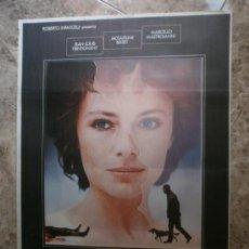Cine: LA MUJER DEL DOMINGO. JEAN - LOUIS TRINTIGNANT, JACQUELINE BISSET, MARCELLO MASTROIANNI. AÑO 1976.. Lote 33367882