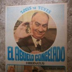 Cine: EL ABUELO CONGELADO. LOUIS DE FUNES. AÑO 1978.. Lote 33380862