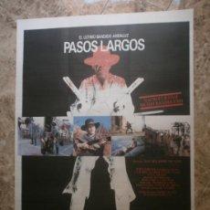 Cine: PASOS LARGOS. TONY ISBERT, MARINA SAURA, EUSEBIO LAZARO, FELIPE VELEZ.. Lote 33394810
