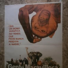 Cine: GENTE MARAVILLOSA. AÑO 1976.. Lote 33395022
