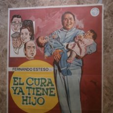 Cine: EL CURA YA TIENE HIJO. FERNANDO ESTESO, ANTONIO OZORES, ALFONSO DEL REAL. AÑO 1983.. Lote 288473178