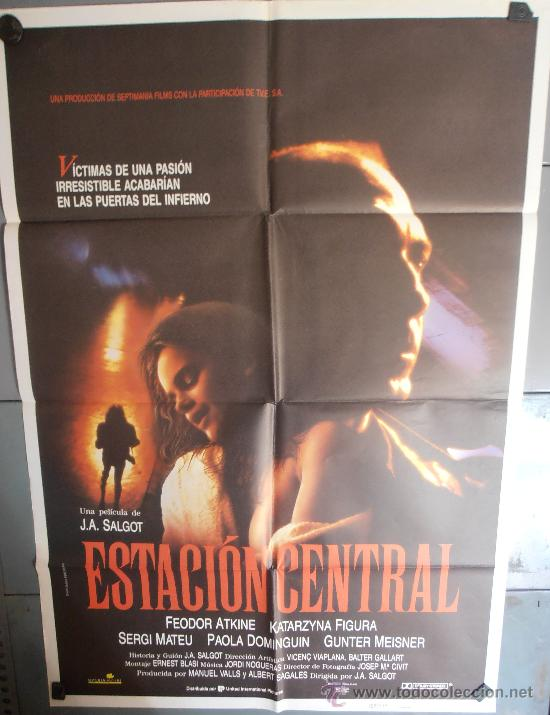 ESTACION CENTRAL, CARTEL DE CINE ORIGINAL 70X100 APROX (1981) (Cine - Posters y Carteles - Terror)