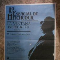 Cine: LA VENTANA INDISCRETA. LO ESENCIAL DE HITCHCOCK. JAMES STEWART, GRACE KELLY. AÑO 1984.. Lote 33398885