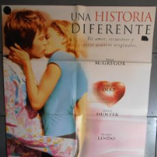 Cine: UNA HISTORIA DIFERENTE,CAMERON DIAZ CARTEL DE CINE ORIGINAL 70X100 APROX (2088). Lote 33442184