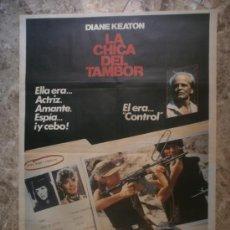 Cine: LA CHICA DEL TAMBOR. DIANE KEATON, YORGO VOYAGIS, KLAUS KINSKI. AÑO 1985.. Lote 33467690