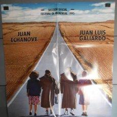 Cine: SUSPIROS DE ESPAÑA (Y DE PORTUGAL),JUAN ECHANOVE, JUAN LUIS GALIARDO CARTEL DE CINE ORIGINAL 70X100 . Lote 33481524
