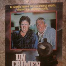 Cine: UN CRIMEN DORMIDO. DAVID NAUGHTON, JUDI ARONSON, JEFF CONAWAY.. Lote 33482120