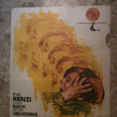 Cine: EL AMARGO SABOR DEL MIEDO. EVA RENZI, DAVID BUCK, PETER VAUGHAN. AÑO 1971.. Lote 33525191