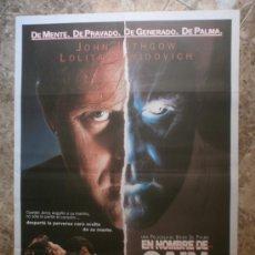 Cine: EN NOMBRE DE CAIN. JOHN LITHGOW, LOLITA DAVIDOVICH. AÑO 1992.. Lote 33546765