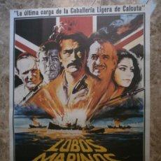 Cine: LOBOS MARINOS. GREGORY PECK, ROGER MOORE, DAVID NIVEN. AÑO 1980.. Lote 33627583