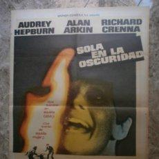 Cine: SOLA EN LA OSCURIDAD. AUDREY HEPBURN, ALAN ARKIN, RICHARD CRENNA. AÑO 1980.. Lote 33628731