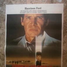 Cine: UNICO TESTIGO. HARRISON FORD. AÑO 1985.. Lote 33640558
